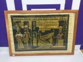 Картина на папирусе Египет
