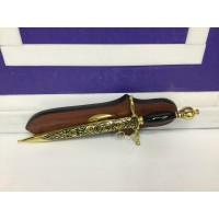 Кортик УЗГА сувенирный в ножнах (длина клинка 21см)