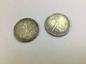 Монеты полтинники 1926г, серебро 900